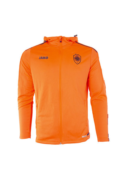 RAFC Sweater met kap Striker 2.0 - Flame/Navy