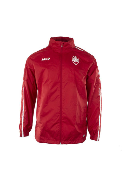 RAFC Regenjas Striker 2.0 Kids - Chilirood/Wit