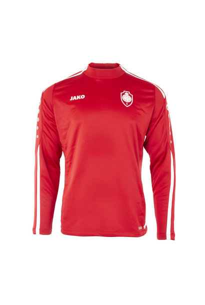 RAFC Sweater Striker 2.0 - Chilirood/Wit