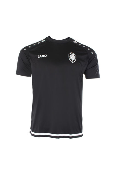 RAFC T-shirt Striker 2.0 Kids - Zwart/Wit