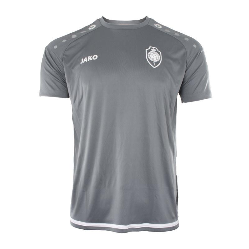 RAFC T-shirt Striker 2.0 - SteenGrijs/Wit-1