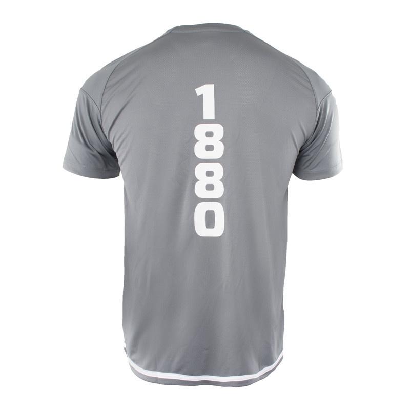 RAFC T-shirt Striker 2.0 - SteenGrijs/Wit-2