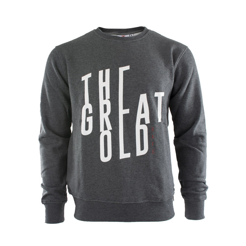 RAFC Sweater THE GREAT OLD - Grijs-1