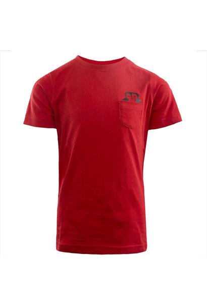 RAFC T-shirts Owl Kids - Rood