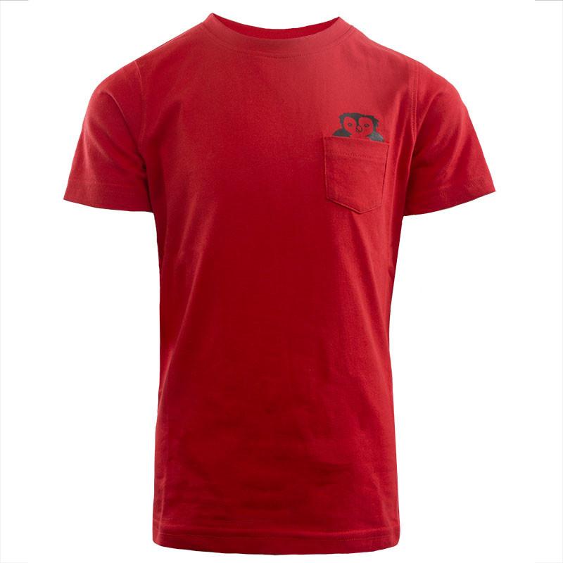 RAFC T-shirts Owl Kids - Rood-1