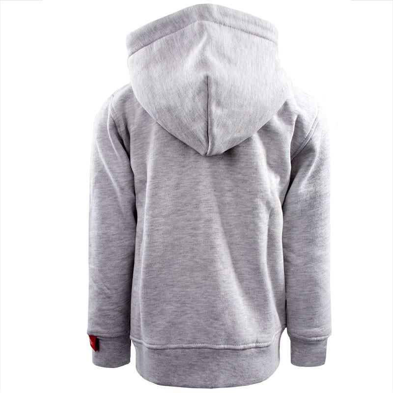 RAFC Hooded Sweater Shield Kids - Grijs-2