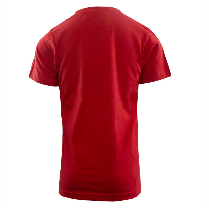 RAFC T-shirt Retro Ball Kids - Rood-2