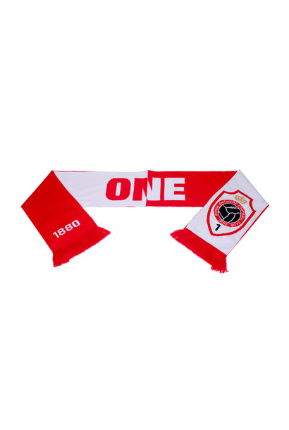Antwerp Official Sjaal - ONE - Rood/Wit