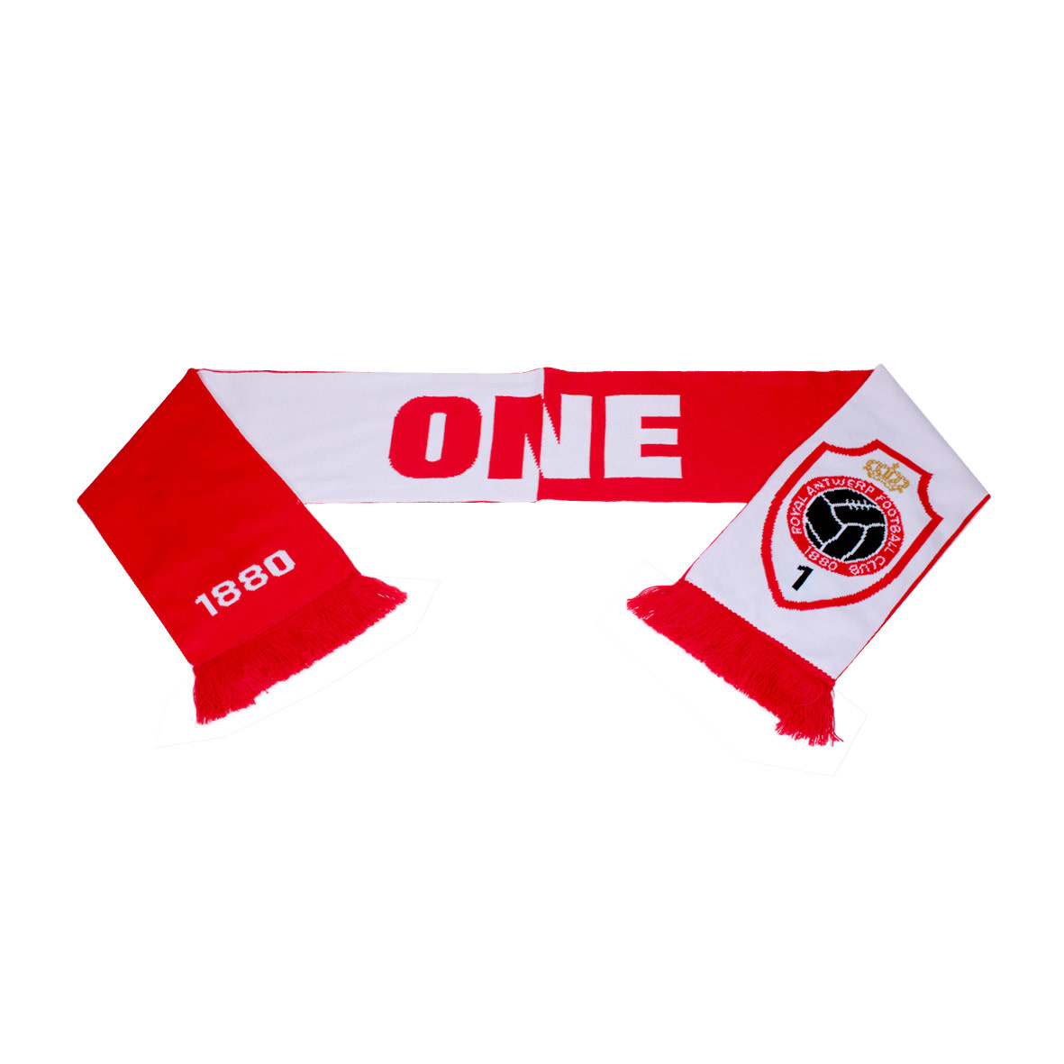 Antwerp Official Sjaal - ONE - Rood/Wit-1