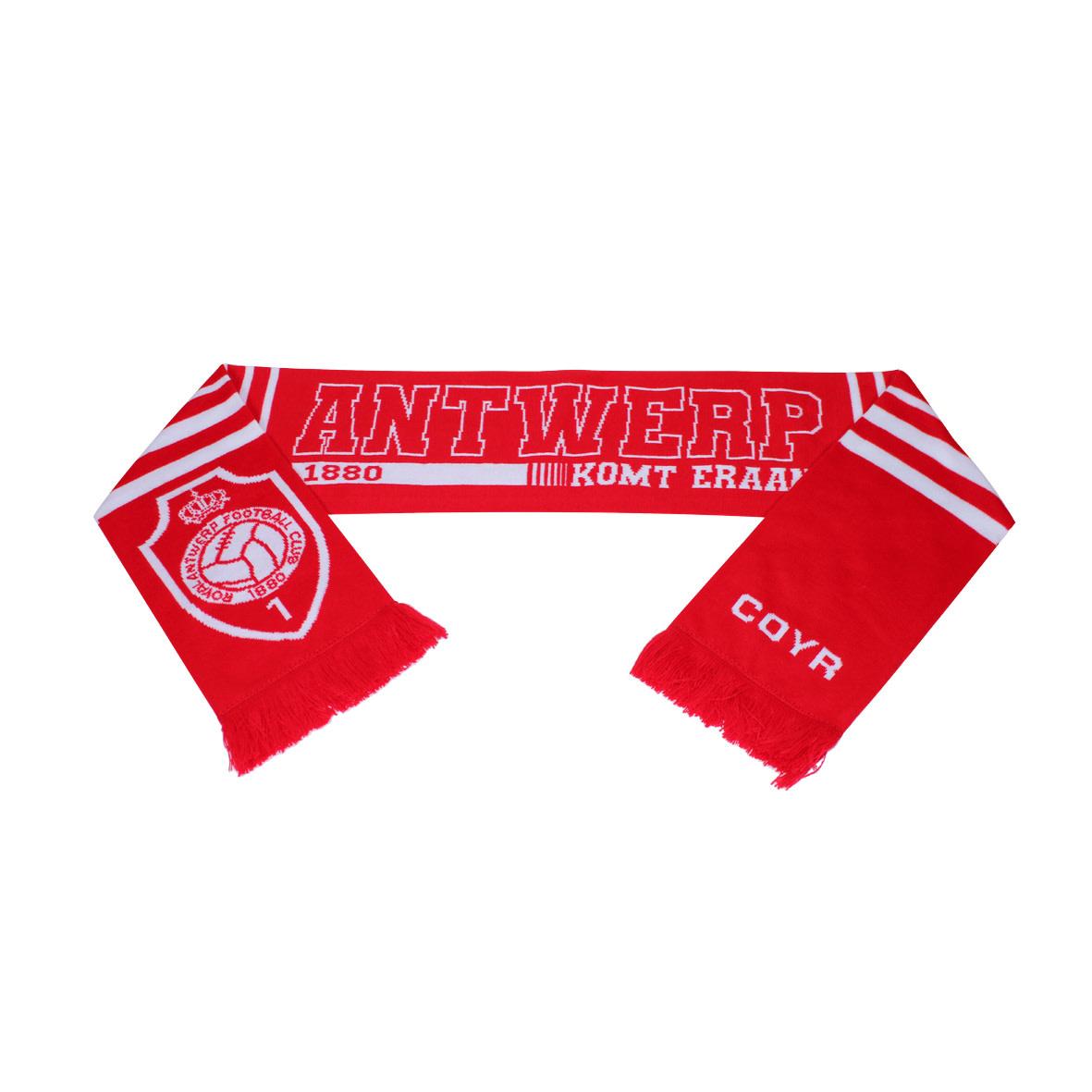 Antwerp Official Sjaal - Antwerp komt eraan - Rood/Wit-1