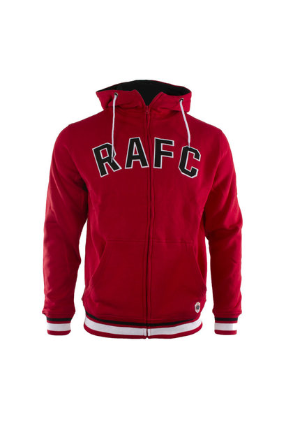 RAFC Hooded Sweater - Rood