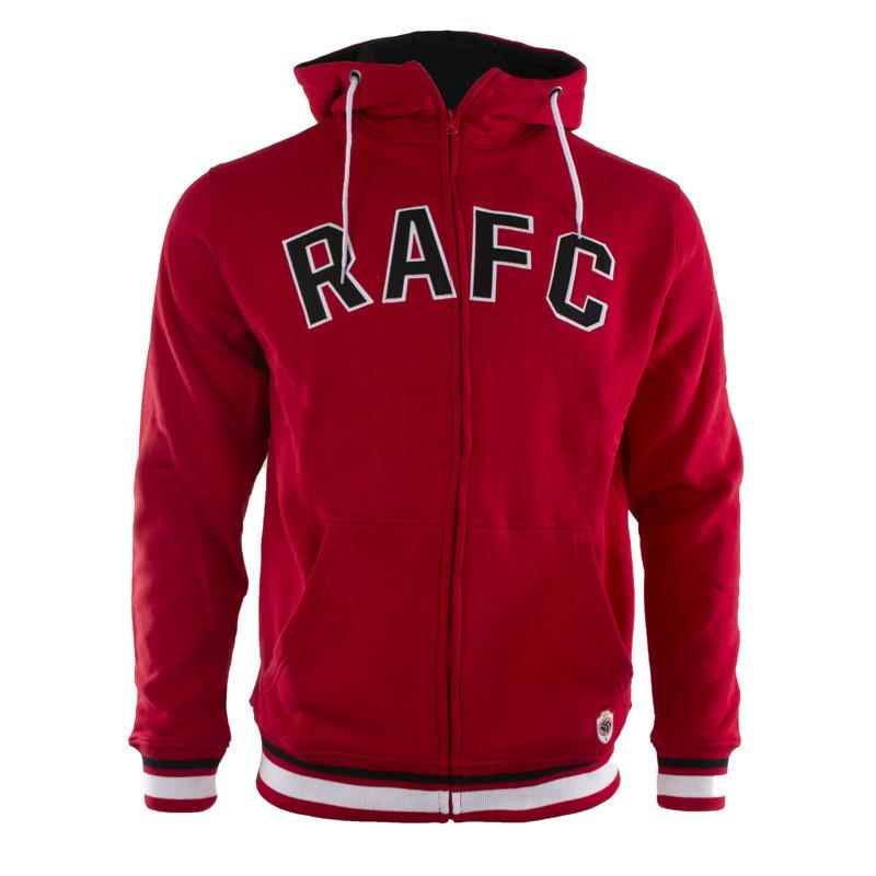 RAFC Hooded Sweater - Rood-1