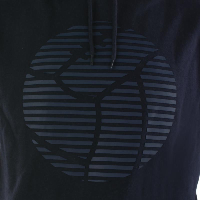 RAFC Hooded Sweater Retro Ball - Navy-4