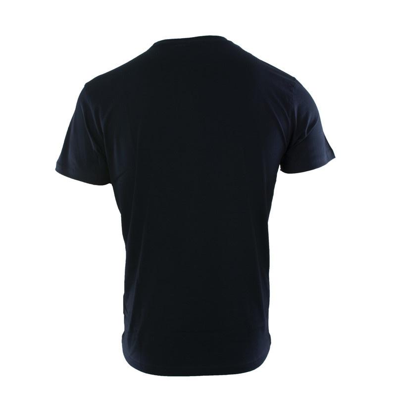RAFC T-shirt Retro Ball - Navy-2