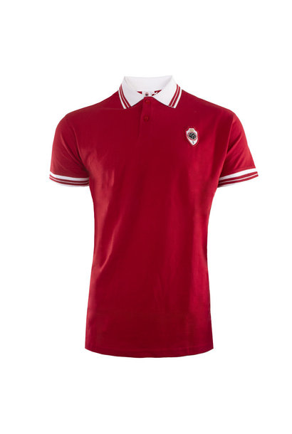 RAFC Polo Shield - Rood