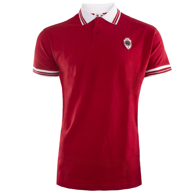 RAFC Polo Shield - Rood-1
