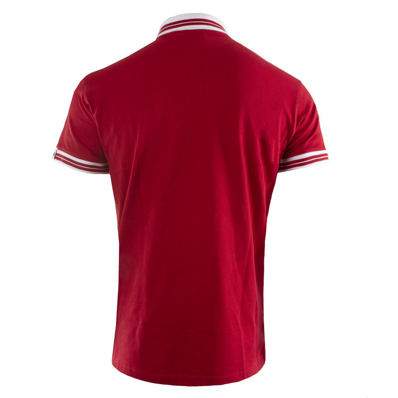 RAFC Polo Shield - Rood-2