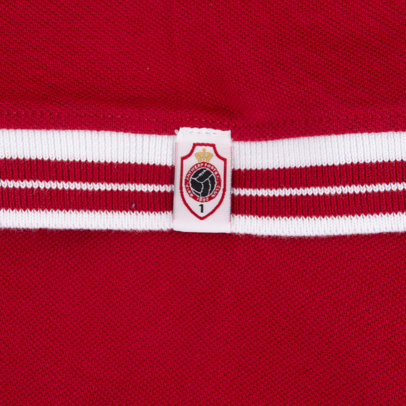 RAFC Polo Shield - Rood-3