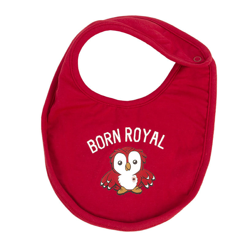 RAFC Baby Bib Duo Pack - Born Royal - One size-2