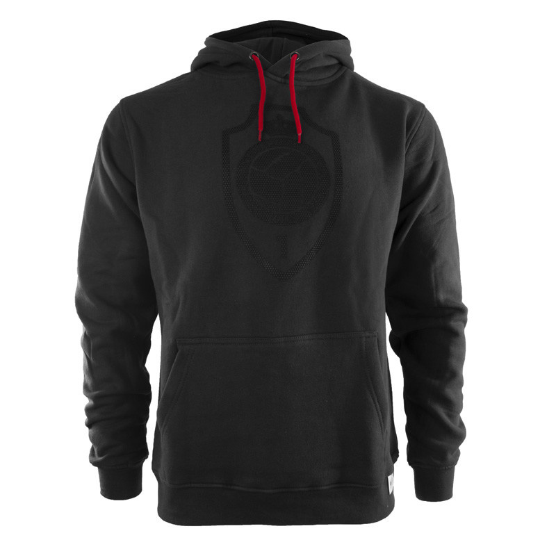 RAFC Hooded Sweater Shield - Charcoal-1
