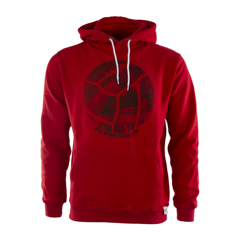 RAFC Hooded Sweater Retro Ball - Rood-1