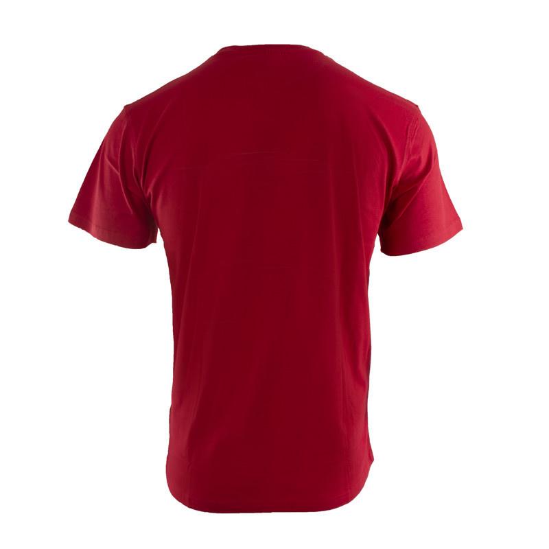 RAFC T-shirt Retro Ball - Rood-2