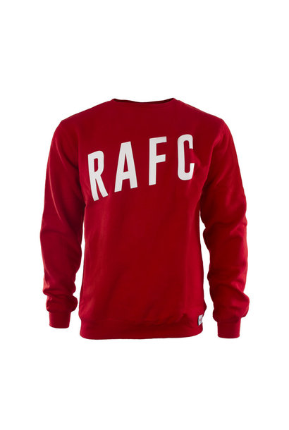 RAFC Sweater - Rood
