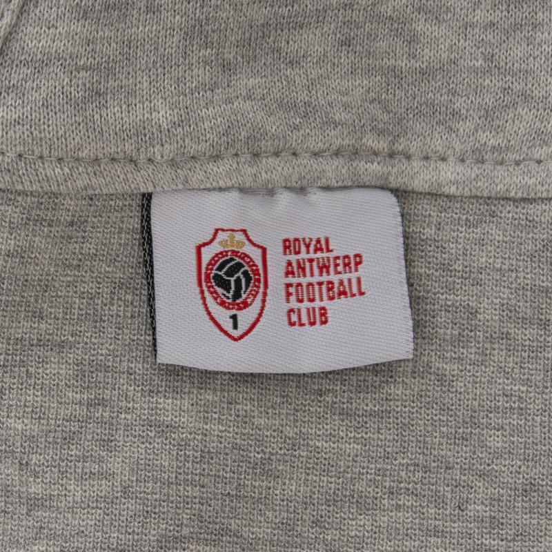 RAFC Hooded Sweater Blanco Shield - Grijs-3
