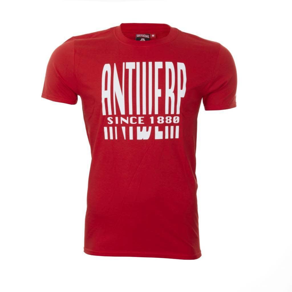 RAFC T-shirt 'Antwerp since 1880' - Rood-1