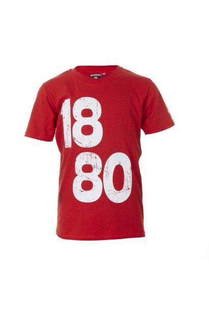 RAFC T-shirt '1880 vintage' Kids - Rood