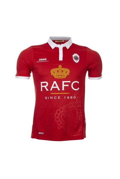RAFC Retroshirt 'Kroon' Kids - Rood