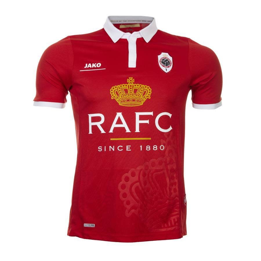RAFC Retroshirt 'Kroon' Kids - Rood-1