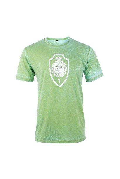 RAFC T-shirt 'Vintage Logo' - Groen