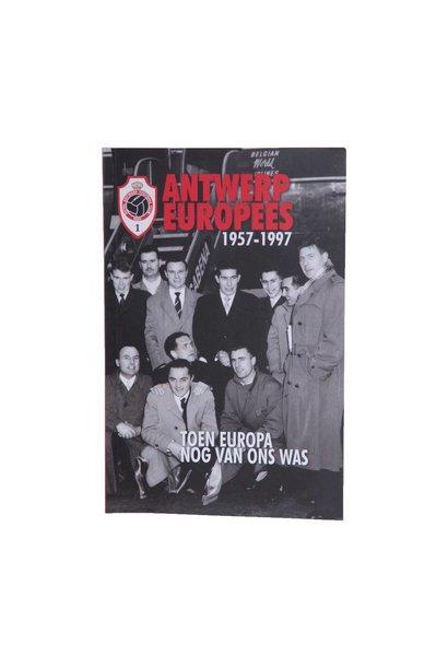 RAFC Boek Paperback - Antwerp Europees 1957-1997