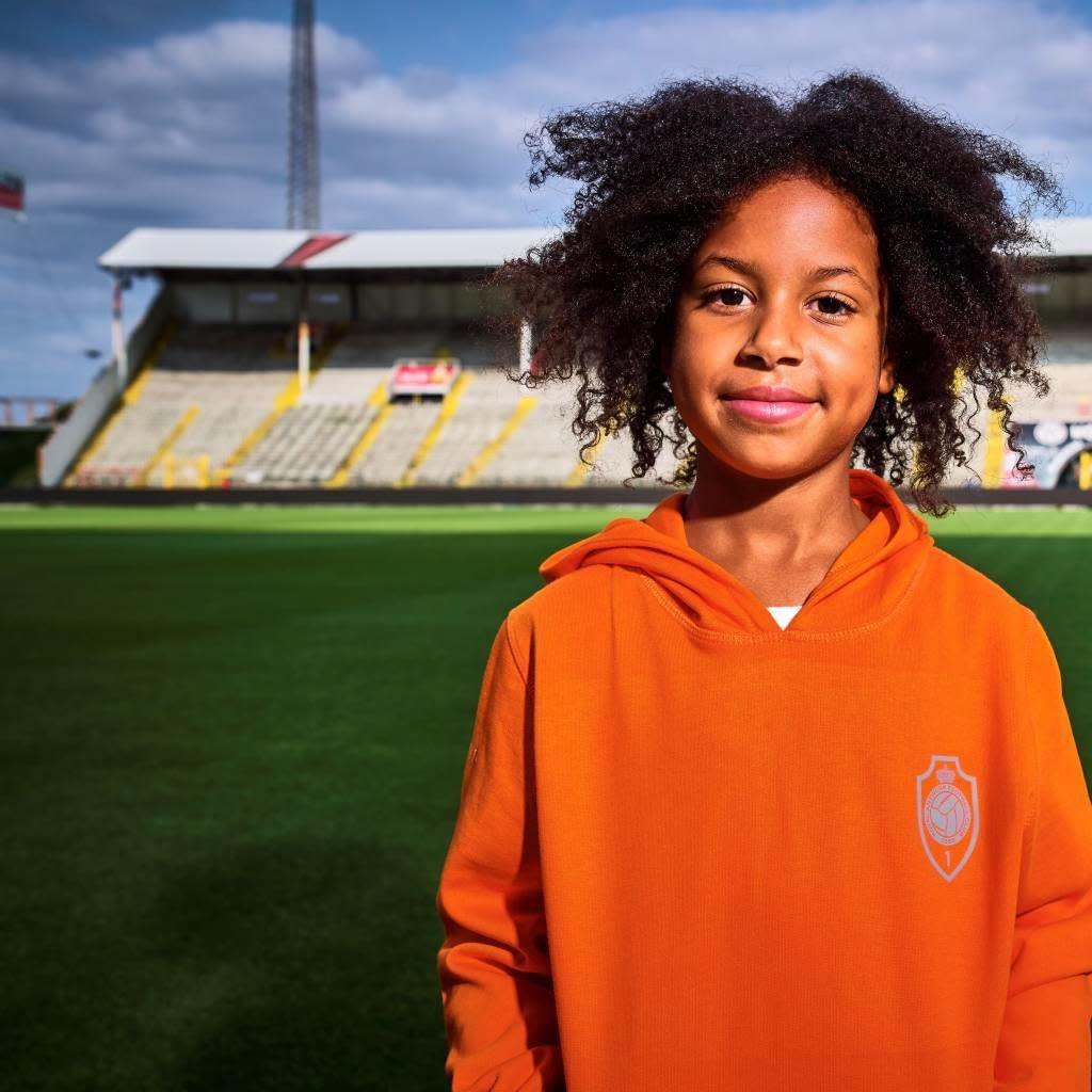 RAFC Hoodie 'Team 1880' Kids - Oranje-4