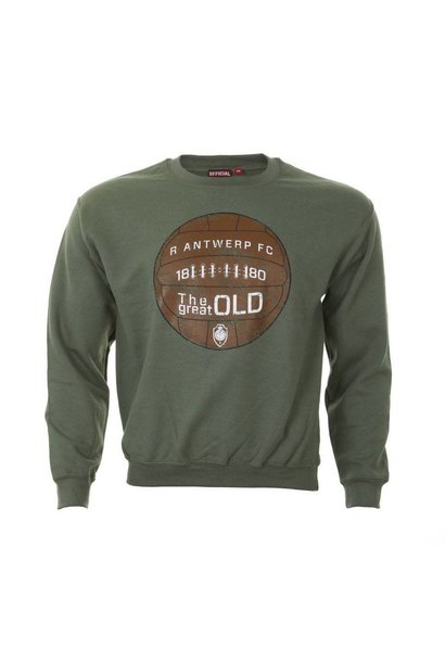 RAFC Sweater 'The Great Old' - Military