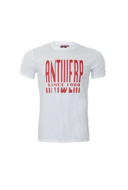 RAFC T-shirt 'Antwerp since 1880' - Wit