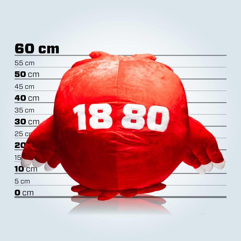 RAFC Grote knuffel 'Bosuil' - 60cm-2