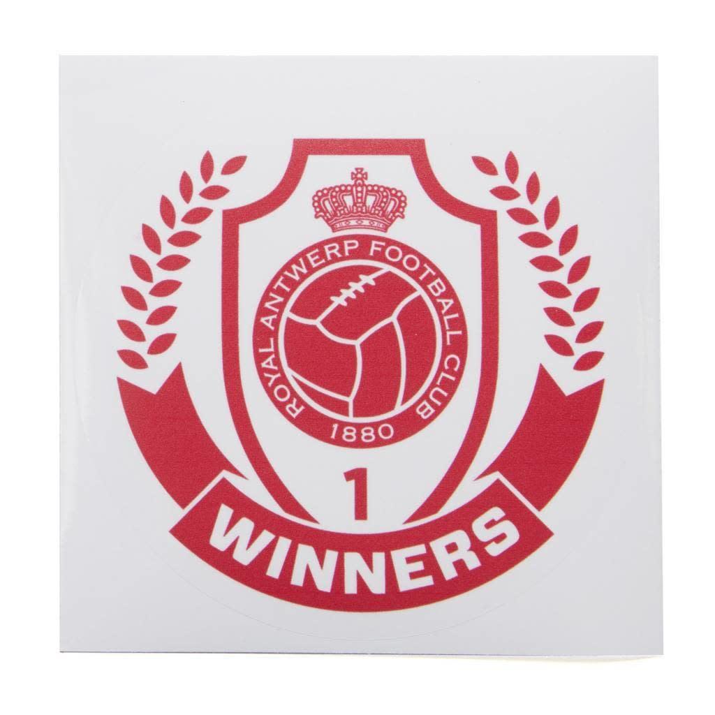 RAFC Sticker Transparant - Winners - Rond-1