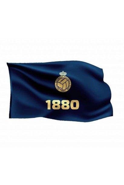 RAFC Vlag '1880' 150x100cm - Blauw