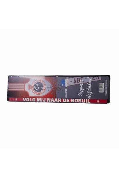 RAFC Nummerplaat 'Volg mij naar de Bosuil'