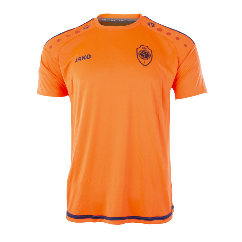 RAFC T-shirt Striker 2.0 - Flame/Navy-3