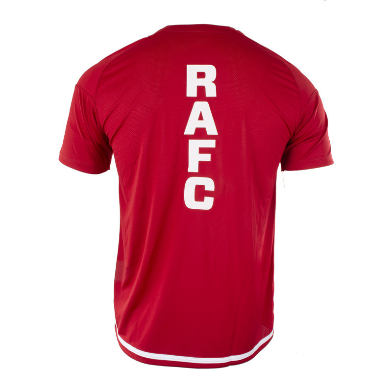 RAFC T-shirt Striker 2.0 - Chilirood/Wit-4