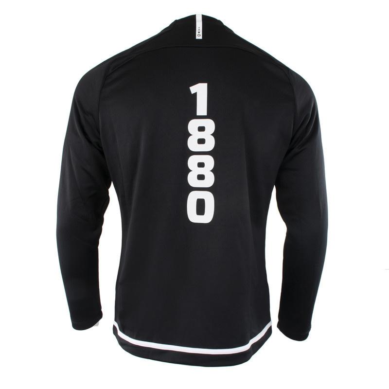 RAFC Sweater zonder kap Striker 2.0 - Zwart/Wit-4
