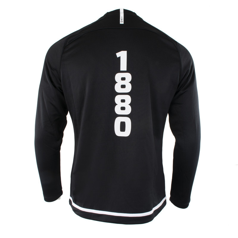 RAFC Sweater zonder kap Striker 2.0 - Zwart/Wit-6