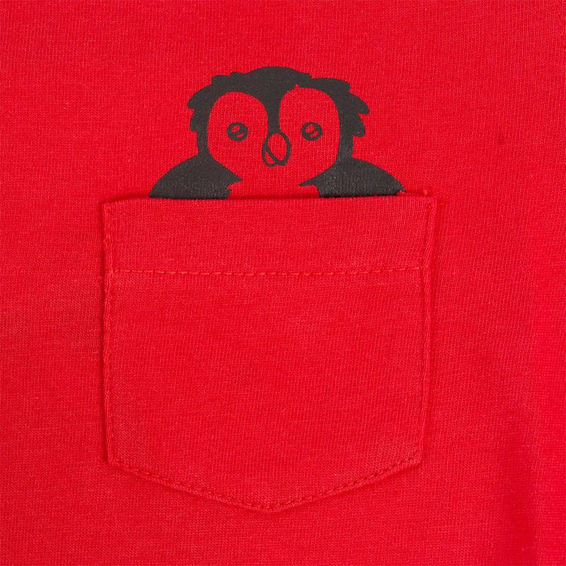RAFC T-shirts Owl Kids - Rood-6
