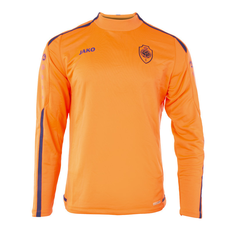 RAFC Sweater zonder kap Striker 2.0 - Flame/Navy-3