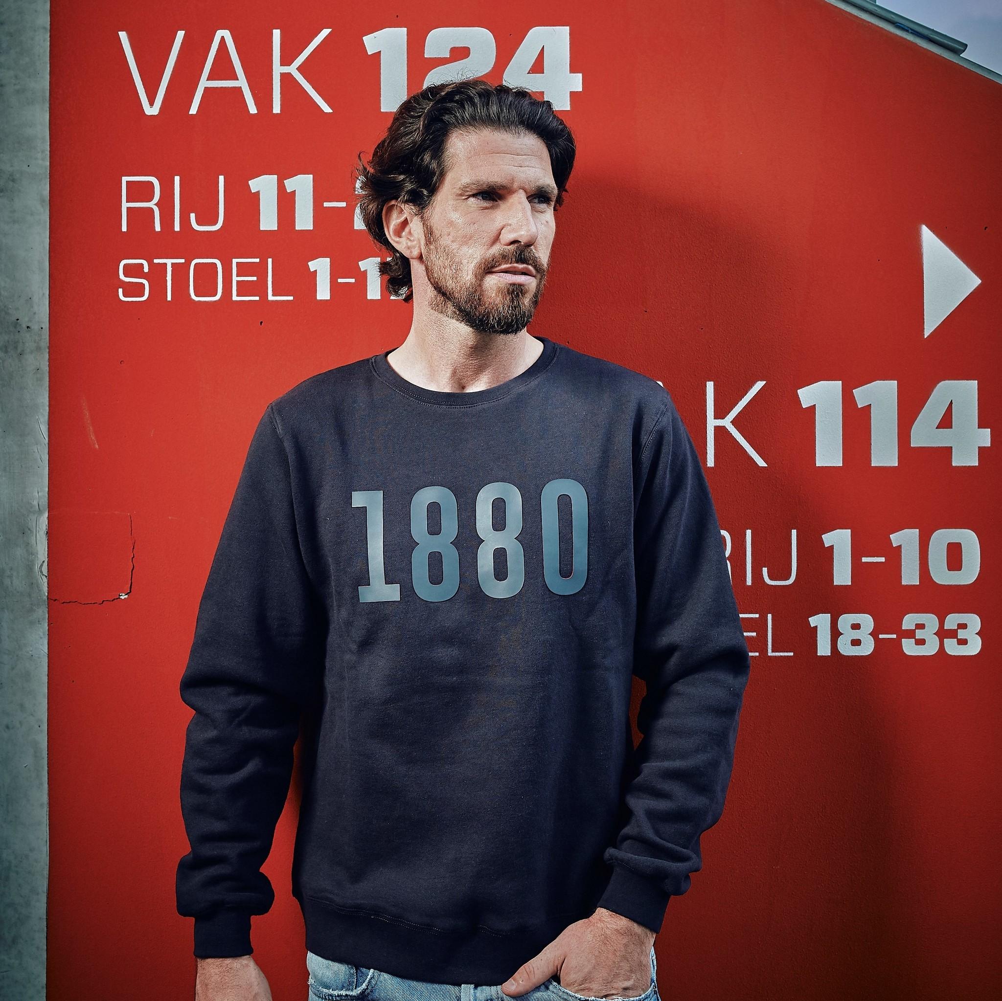RAFC Crewneck Sweater Grijs - 1880-3
