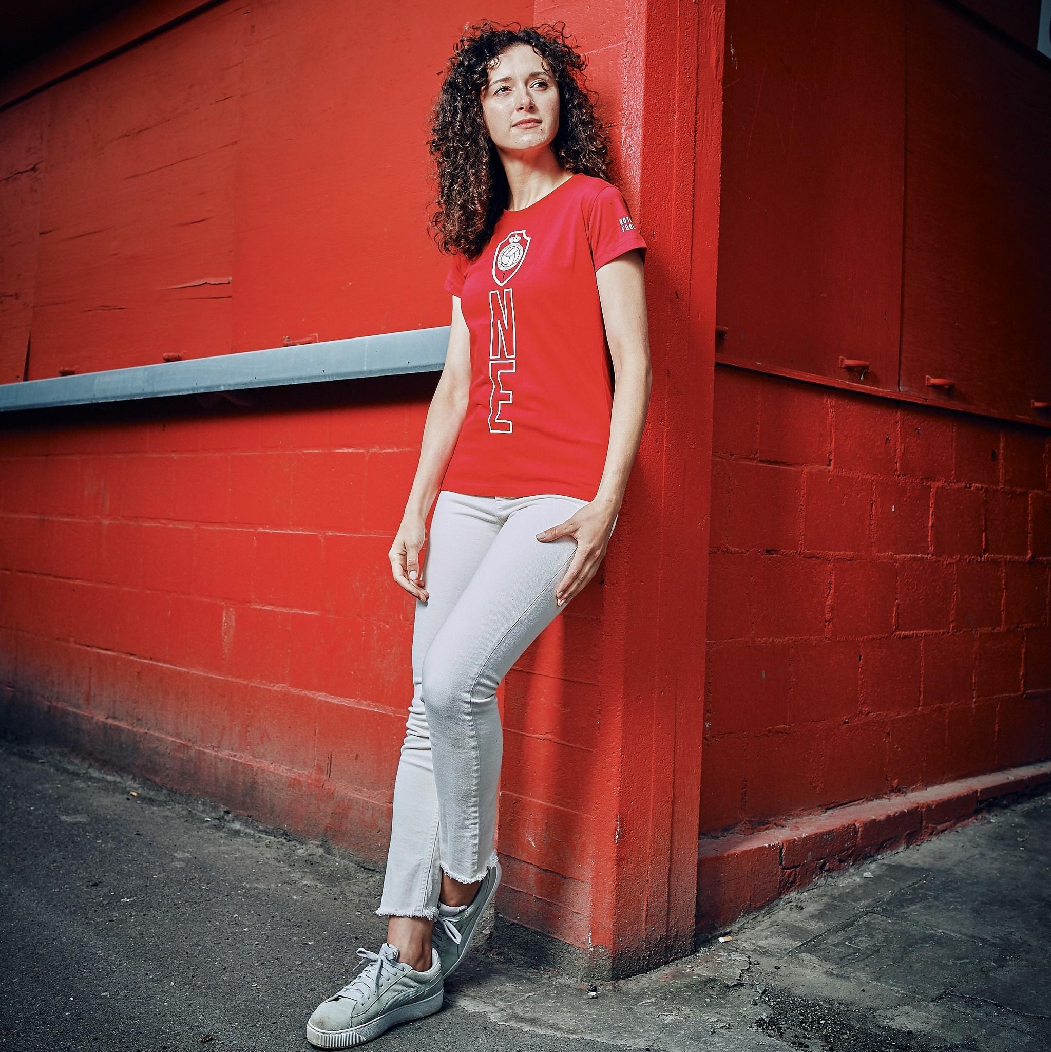 RAFC T-shirt Ladies ONE - Rood-4