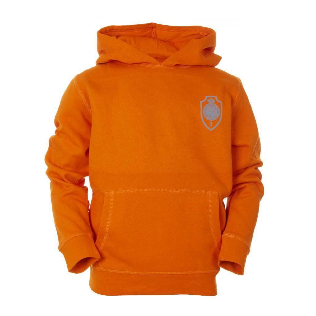 RAFC Hoodie 'Team 1880' Kids - Oranje-5